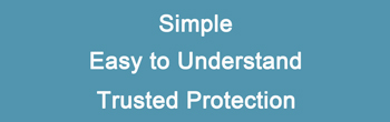 Simple, Trusted Protection, Insurance