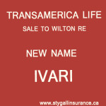 Transamerica Life - New Name Ivari