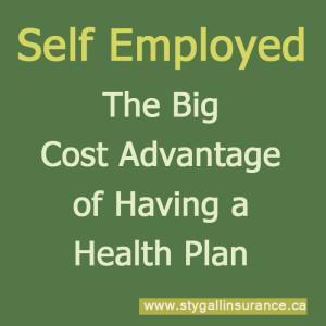 Cost Advantage of Having a Health Insurance Plan
